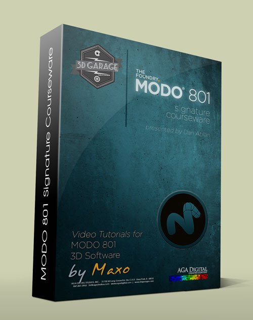 3D Garage: Modo 801 Signature Courseware