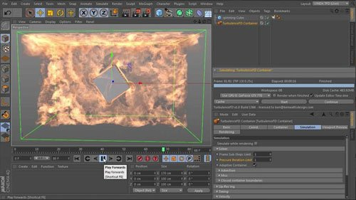 TurbulenceFD for CINEMA 4D Essential