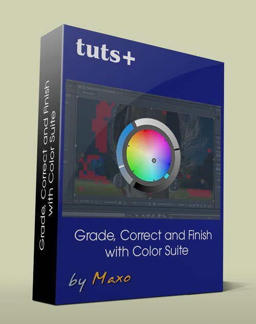 Tuts+ Premium: Grade, Correct and Finish with Color Suite