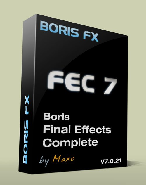 Boris Final Effects Complete v7