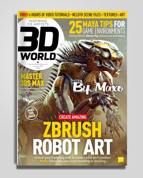 3D World - January 2015