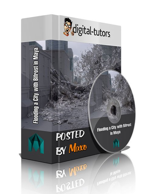Digital Tutors - Flooding a City with Bifrost in Maya