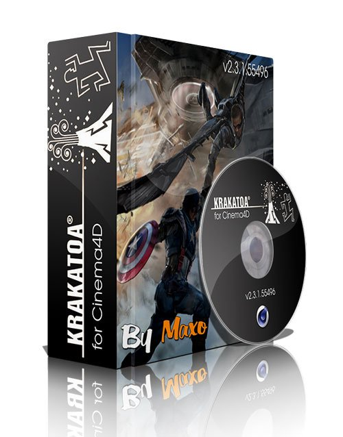 Thinkbox Krakatoa v2.3.2.57369 for Cinema4D MacOSX