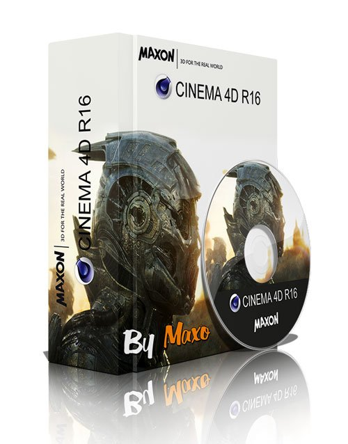 MAXON CINEMA 4D R16.029 Multilingual + Materials, Goodies and HelpFiles