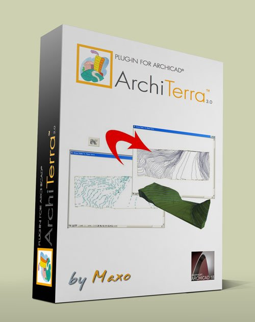 Architerra v3 + library for Archicad 18