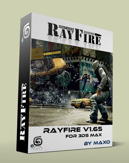 RayFire v1.65 plugin for 3ds Max 2011 - 2015