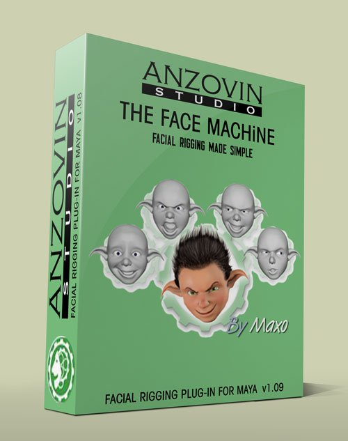 The Face Machine v1.09 For Maya 2014-2015 Win/Linux