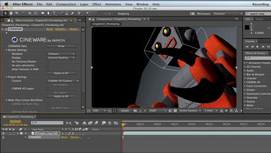Up and Running with CINEMA 4D Lite for After Effects (Updated Jan 15 2015)