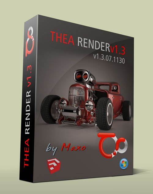 Thea Render v1.3.07.1130 for SketchUP 2015