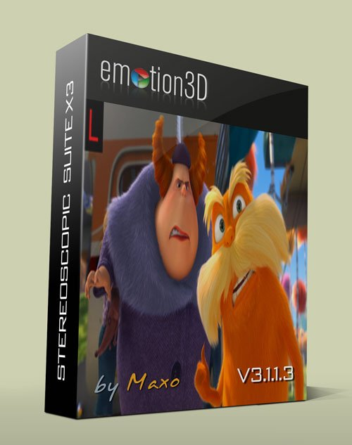 emotion3D Stereoscopic Suite X3 v3.1.1.3 for After Effects Win64