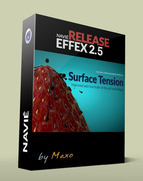 Navie Effex Plus Krakatoa Edition v2.56.60 for Cinema 4D R13-R16 Win
