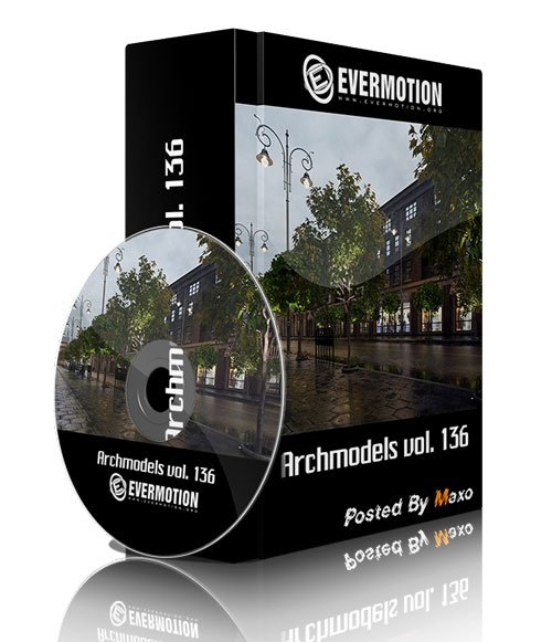 Evermotion - Archmodels vol. 136