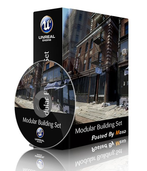 Unreal Engine Marketplace - Modular Building Set