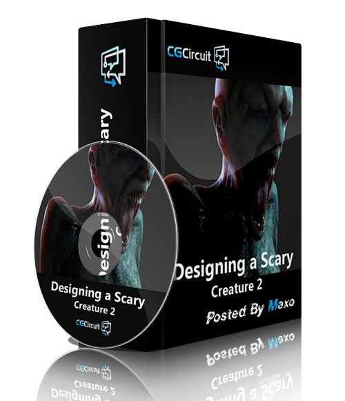 CGCircuit - Designing a Scary Creature 2