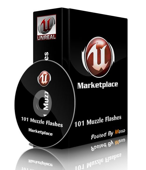 Unreal Engine 4 Marketplace - 101 Muzzle Flashes