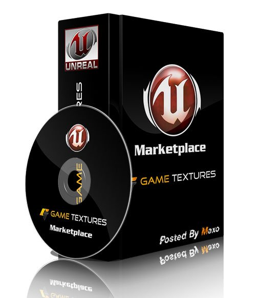 Unreal Engine - Game Textures Road Pack