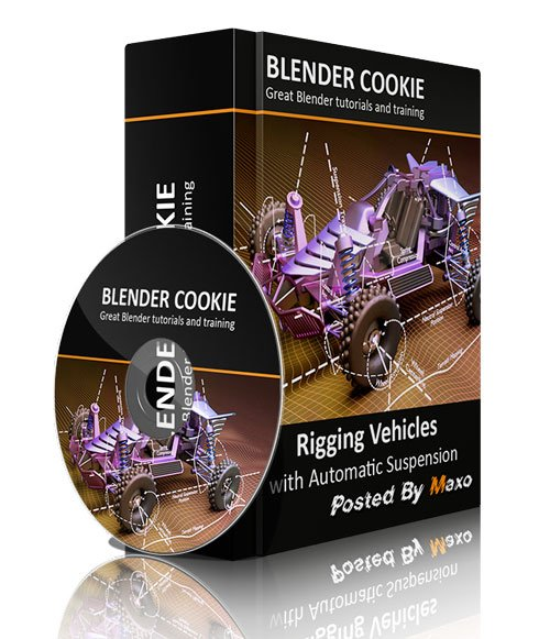 CGCookie - Blender - Rigging Vehicles with Automatic Suspension