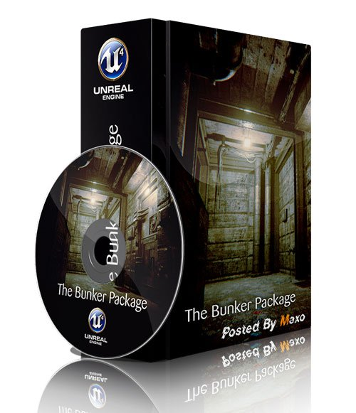 Unreal Engine MarketPlace - The Bunker Package
