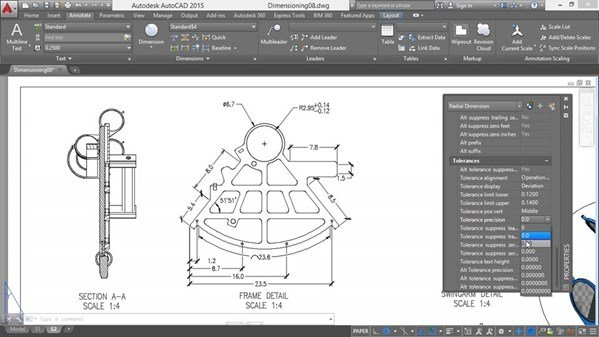 Working with Dimensions in Aut ...