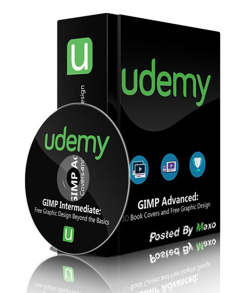 Udemy - GIMP Advanced: 3D Book Covers and Free Graphic Design