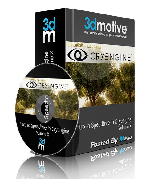 3DMotive - Intro to Speedtree in Cryengine Volume 2