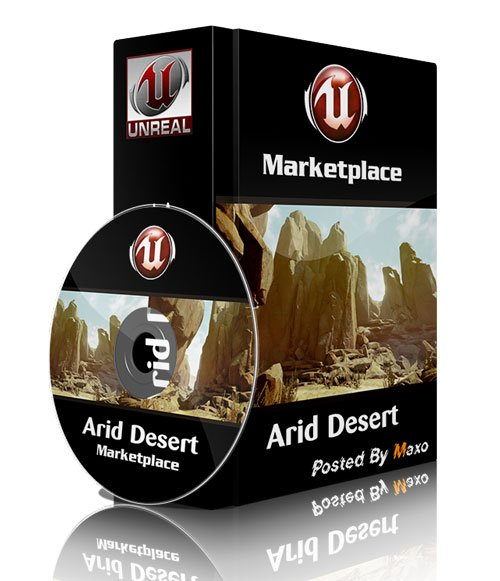 Unreal Engine 4 MarketPlace - Arid Desert