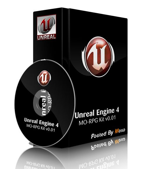 Unreal Engine 4 MO-RPG Kit v0.01