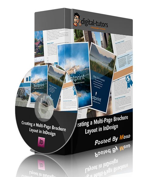 Digital Tutors - Creating a Multi-Page Brochure Layout in InDesign