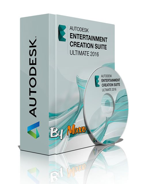 Autodesk Entertainment Creation Suite Ultimate 2016 WIN64