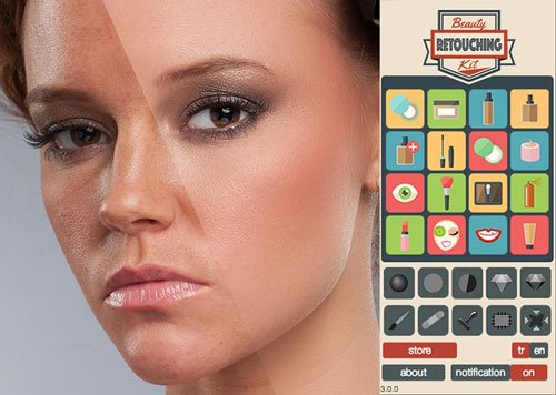 Beauty Retouching Kit v3.0 For Photoshop