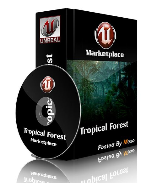 Unreal Engine Marketplace - Tropical Forest