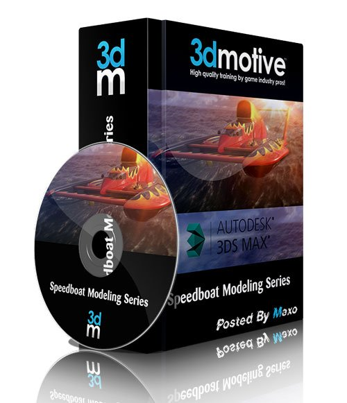 3DMotive - Speedboat Modeling Series Volume 3