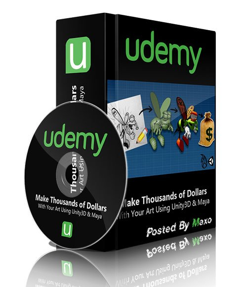 Udemy - Make Thousands of Dollars With Your Art Using Unity3D & Maya
