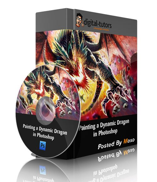 Painting a Dynamic Dragon in Photoshop