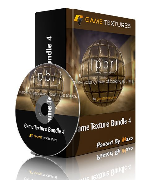GameTextures - Game Texture Bundle 4