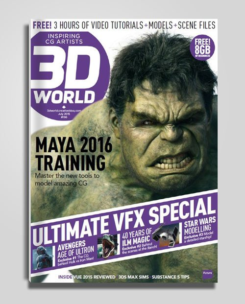 3D World - July 2015