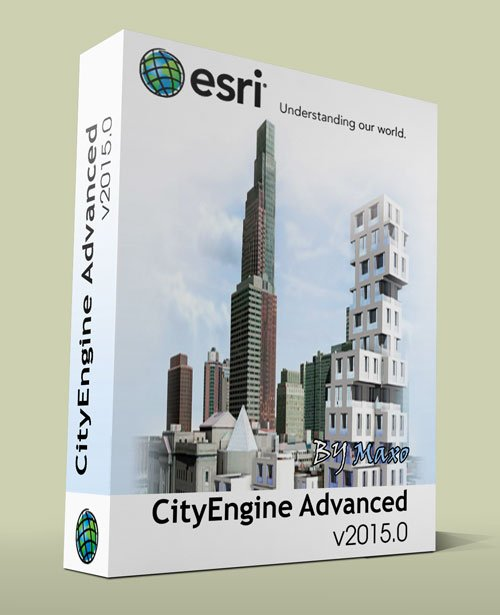 Esri CityEngine v2015.0 with Tutorial & Examples