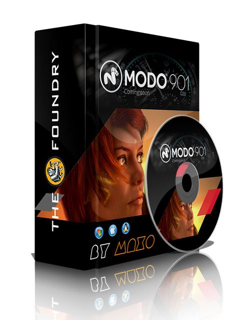 The Foundry MODO 901 with Content Win/Mac/Linux
