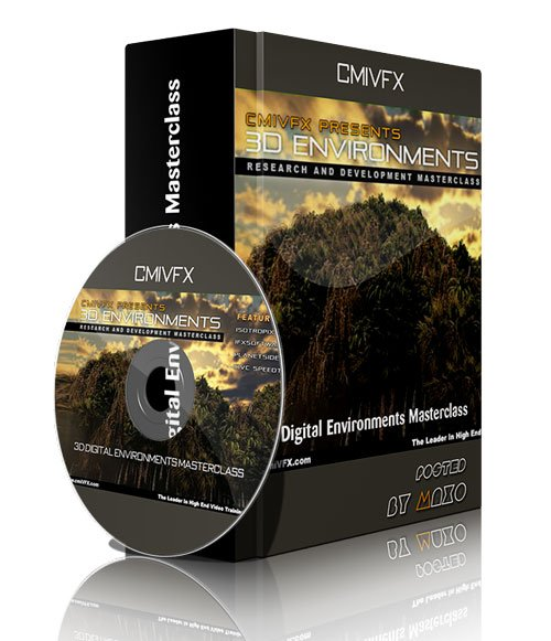 cmiVFX - 3D Digital Environments Masterclass