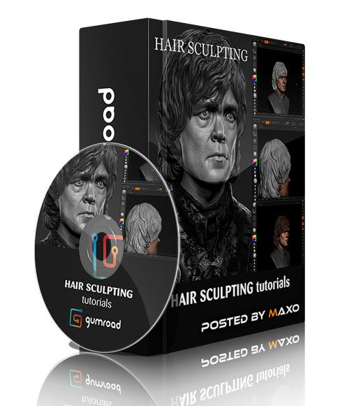 Gumroad - Hair Sculpting by Fr ...
