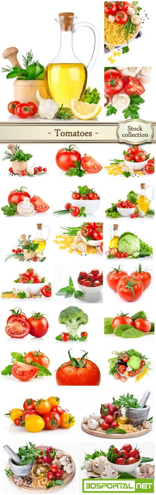 Tomatoes, vegetables - stock photos