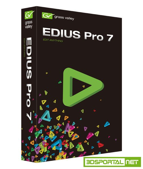 Grass Valley EDIUS Pro 7.50 Build 0211 Win64 (Fix)
