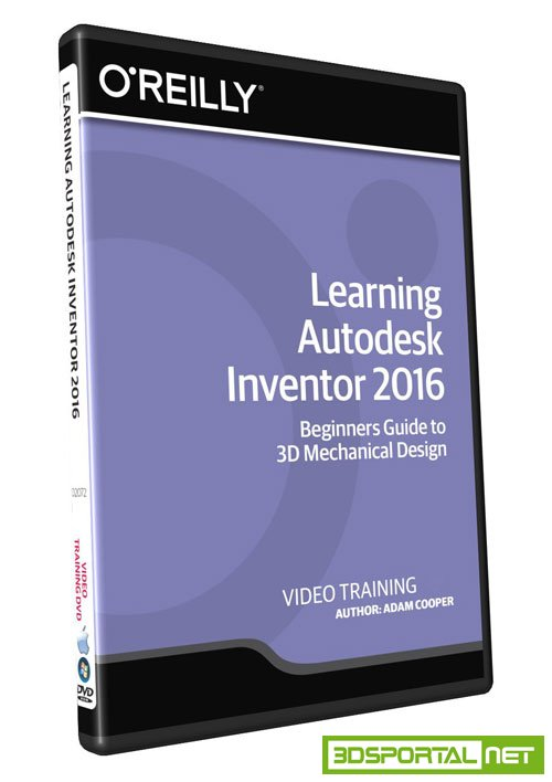 infiniteskills advanced autodesk inventor 2016 3ds portal cg resources for artists. Black Bedroom Furniture Sets. Home Design Ideas