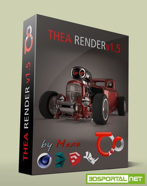 Thea Render v1.5.02.1371 plus Plugins