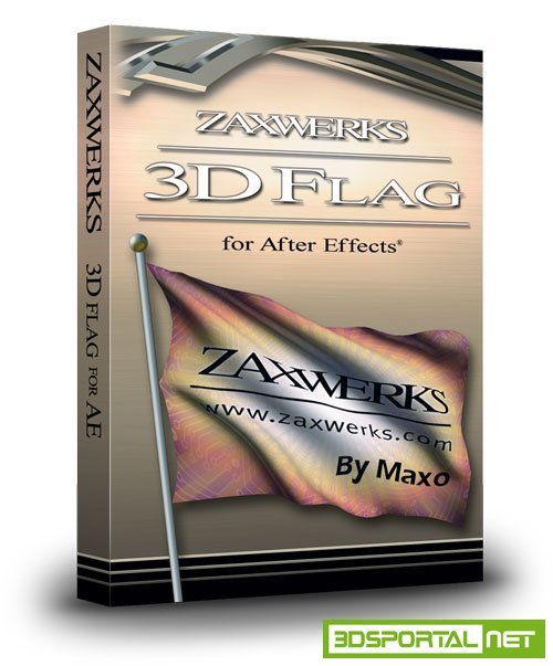 Zaxwerks 3D Flag v4.0.0 for After Effects