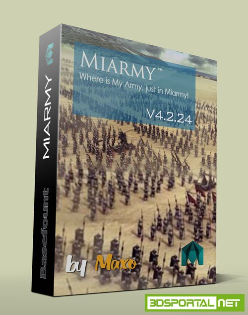 Miarmy Express Pro v4.2.24 for Maya 2014 - 2016 Win64