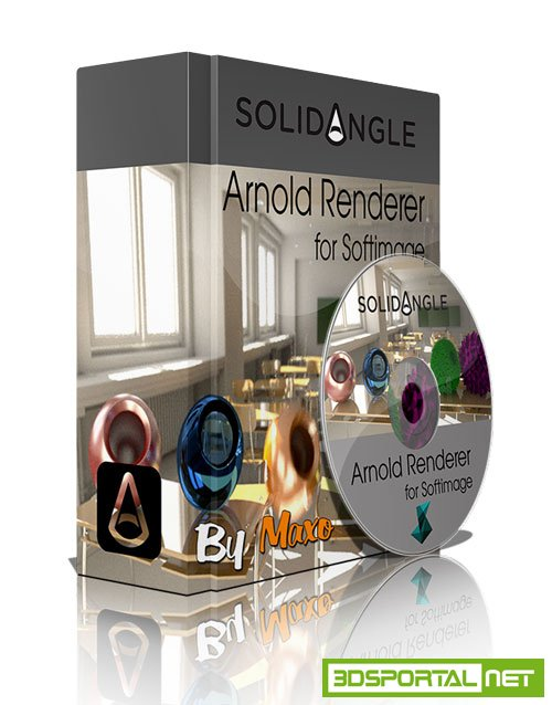 Solidangle Softimage to Arnold (SiToA) v3.11.0 Win/Linux