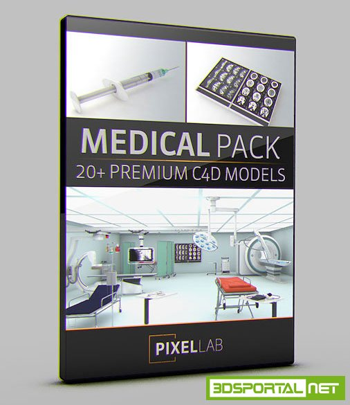 The Pixel Lab - Medical pack