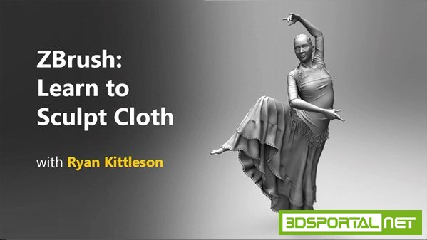 ZBrush: Learn to Sculpt Cloth