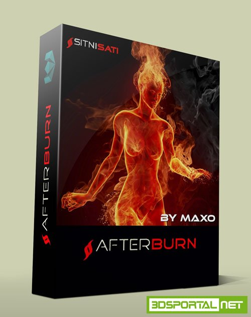 SitniSati AfterBurn 4.2 for 3Ds Max 2015-2016